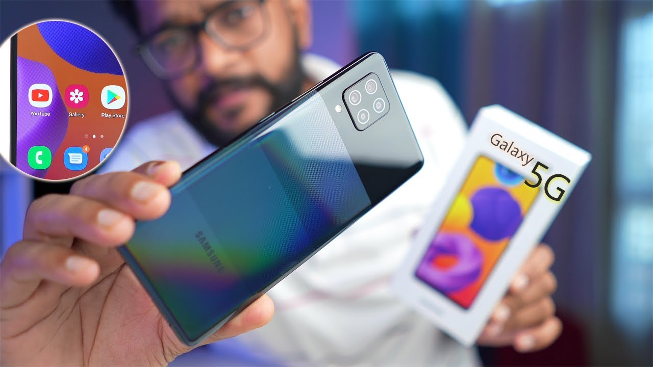 Samsung galaxy M42 5G - Unboxing Overview ! #gyantherapy