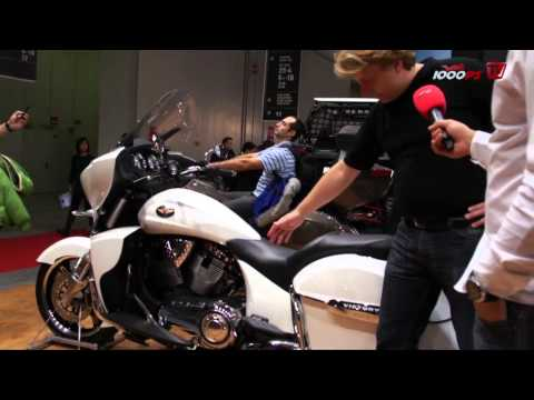 Victory Motorcycles 2012 - Chopper, Cruiser, Bagger und Co. Foto