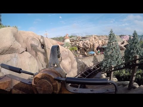 Seven Dwarfs Mine Train POV HD On-Ride Roller Coaster Disney World Magic Kingdom HEIGH HO! GoPro