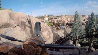 Seven Dwarfs Mine Train POV HD Disney Magic Kingdom HEIGH HO! Roller Coaster On-Ride GoPro