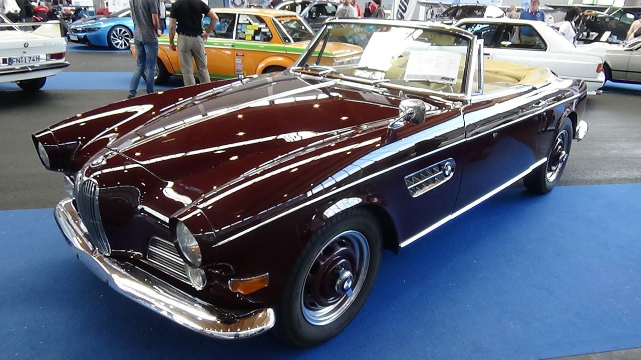 1956 - 1960 BMW 503 Cabrio - Exterior and Interior - Klassikwelt ...