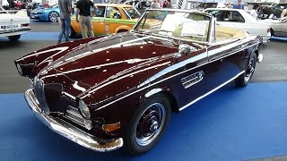 1956 - 1960 BMW 503 Cabrio - Exterior and Interior - Klassikwelt Bodensee 2016