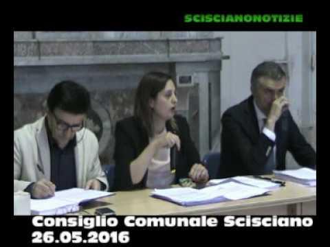 Consiglio Comunale Scisciano 26 05 2016