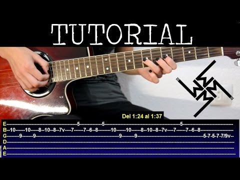 Cómo tocar Coma white de Marilyn Manson Tutorial guitarra