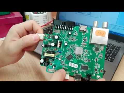 Ремонт блока питания на PN8136,  Приставка  ТВ , схема.