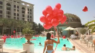 XOXO Fridays | La Piscina | Palazzo Versace Dubai