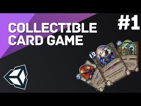 Коллекционная Карточная Игра на Unity #1 - Drag & Drop