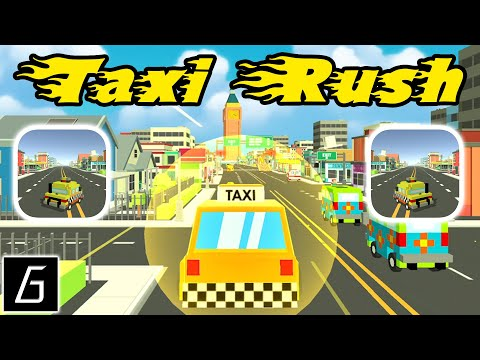 Taxi Rush Gameplay - First Levels 1 - 9 (iOS - Android)