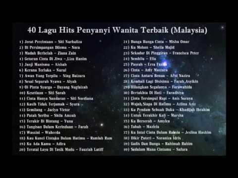 Koleksi Album - 40 Lagu Hits Penyanyi Wanita Terbaik (Malaysia)