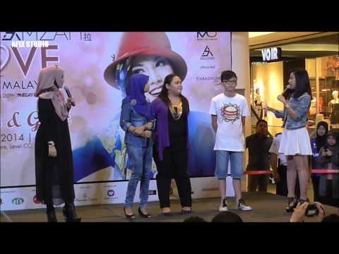Fans Meet & Greet: Shila Amzah Love Concert 2014 Part 1