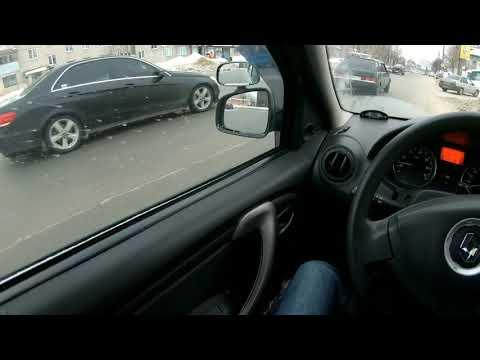 Обучение вождению от первого лица (POV ). Пробный заезд