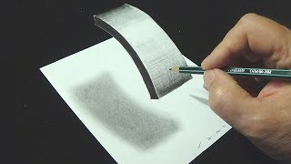"Very Easy - How to Draw Floating Letter ""I"" - 3D Trick Art for Kids & Adults - Vamos"