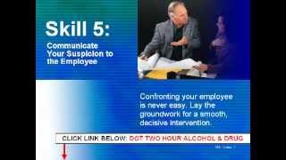 Substance Abuse Online Training: Online Substance Abuse Training for Supervisors