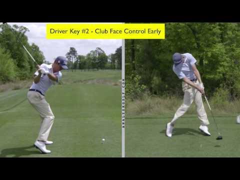 Justin Thomas - Slow Motion Driver Swing Analysis