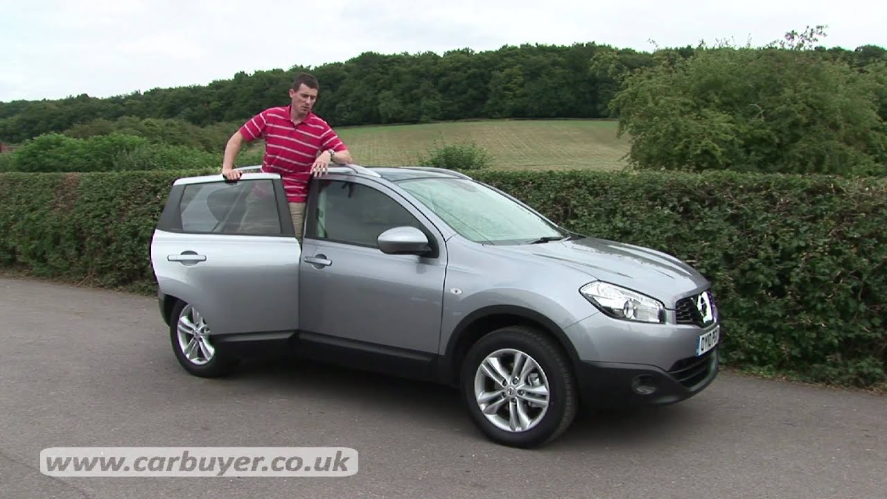 nissan qashqai suv 2007 2013 review carbuyer youtube. Black Bedroom Furniture Sets. Home Design Ideas
