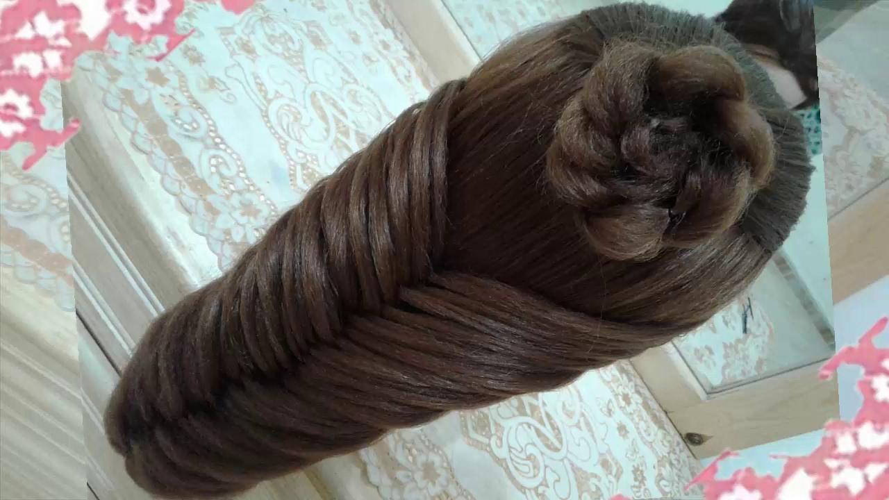 Peinados recogidos faciles para cabello largo bonitos y - Trenzas para nina faciles ...
