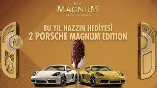 Magnum Porsche Çekiliş Kampanyası 2018