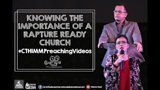Gambar cover Knowing The Importance of a Rapture-Ready Church (2) | Bs. Rod Cubos