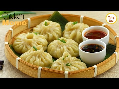 Steamed Chicken Momos/Dumpling For Kids By Tiffin Box | Minced Meat Dim Sum Recipe
