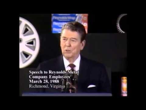 Funny Ronald Reagan Moments