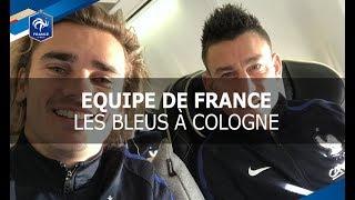 Equipe de France : Les Bleus à Cologne pour Allemagne - France, reportage I FFF 2017