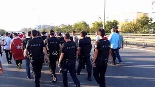 15 Temmuz 2016 Gecesi Yaşananlar İstanbul Sultanbeyli TEM Otoyolu