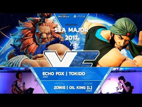 SFV: Echo Fox | Tokido vs Zowie | Oil King Grand Final - SEAM 2017 Top 8 - CPT 2017