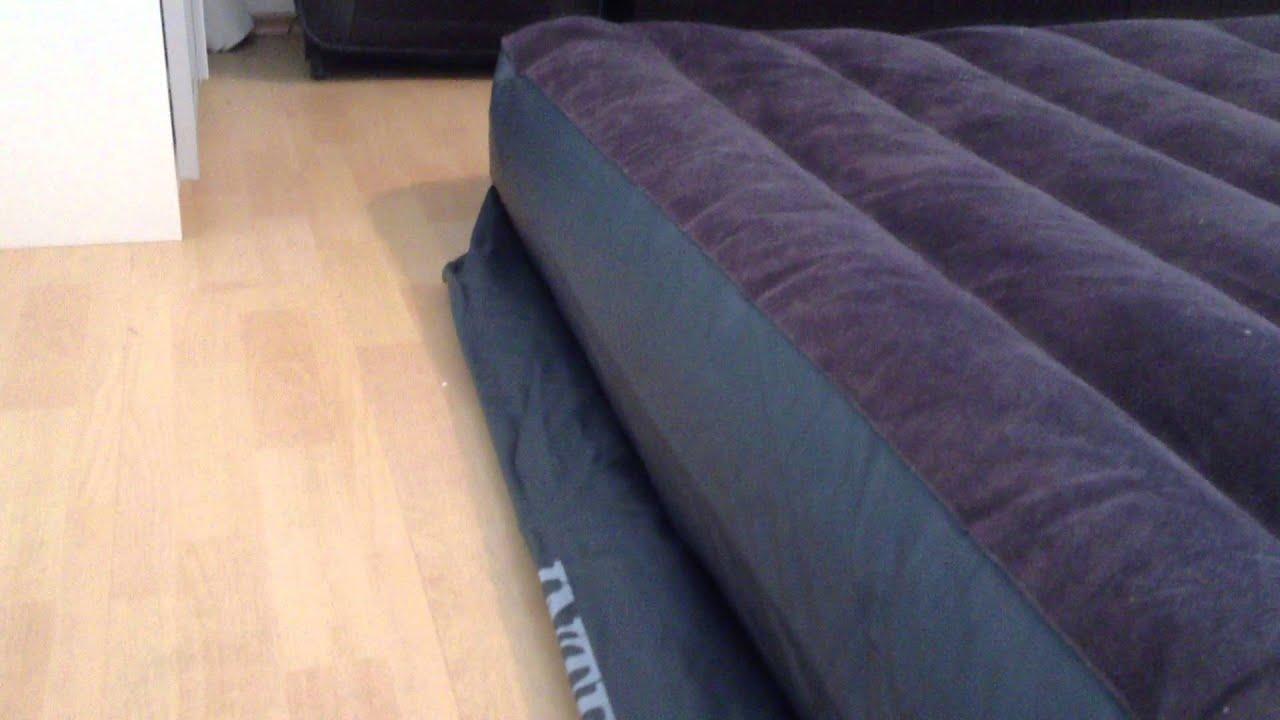 luftbett test wie schnell ist ein 2 personen luftbett mit integrierter pumpe einsatzbereit. Black Bedroom Furniture Sets. Home Design Ideas