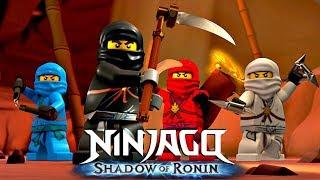 Лего Ниндзяго на русском языке 1-10 серии Детское видео смотреть лего ниндзяго мультик
