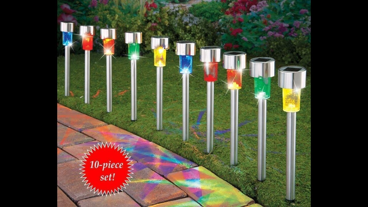 Solar Panel Outdoor Lights