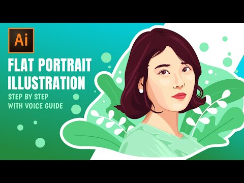 how-to-create-flat-illustration-based-on-photo-in-adobe-illustrator-|-illustrator-lesson-#2