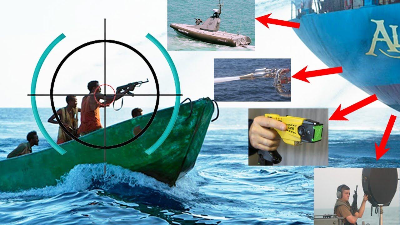 15 Armas y Tecnologías Utilizadas contra Piratas 🏴☠️