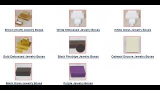 Wholesale Jewelry Boxes - Shop Cardboard Jewelry Gift Boxes