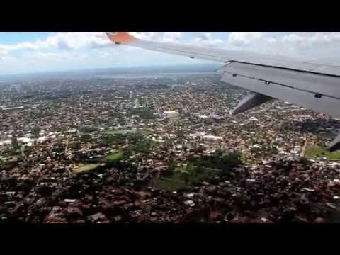Landing in Asuncion / Paraguay