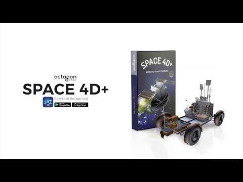 Four Kings UAE Augmented Reality SPACE 4D+ Card   Kids Interactive Education
