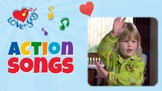 Skinny Marinky I  LOVE you with lyrics | Children Love to Sing Action Songs