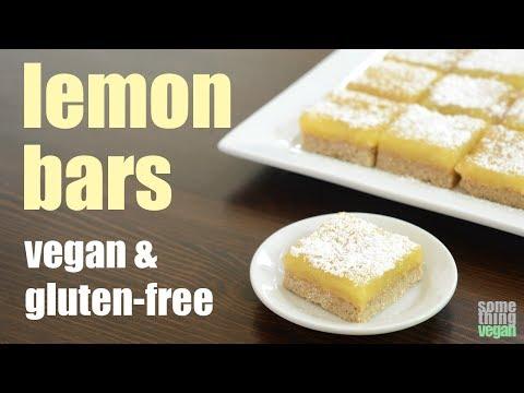 lemon bars (vegan & gluten-free) Something Vegan