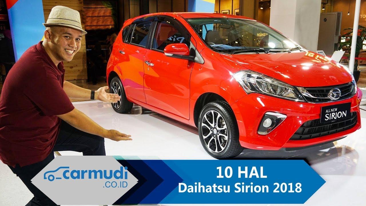 Daihatsu Sirion 2018 Indonesia - 10 HAL yang Perlu Diketahui