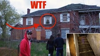 SNEAKING INTO A DEMON HAUNTED HOUSE (HOLY SH*T) (We found this...)