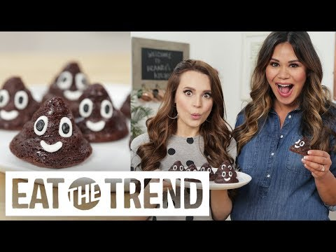 Poo Emoji Brownies With Rosanna Pansino | Eat the Trend