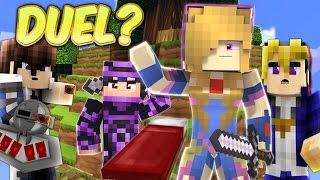 WEIRDEST BED WARS EVER! - Minecraft Yugioh PVP DUEL!!! (Minecraft Bed Wars Roleplay)