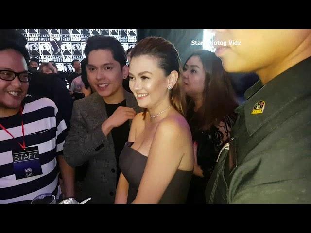 Kapuso Stars Dumalo sa Premiere Night ng Exes Baggage KathNiel Spotted Din! CarGel Kabado!