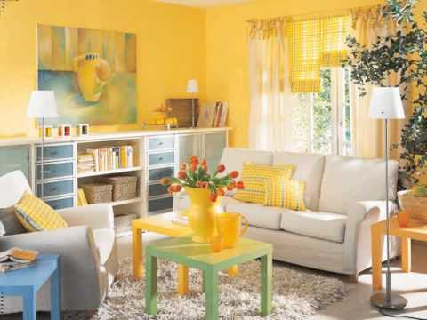 Yellow Decorative Home Decorating Ideas Decor