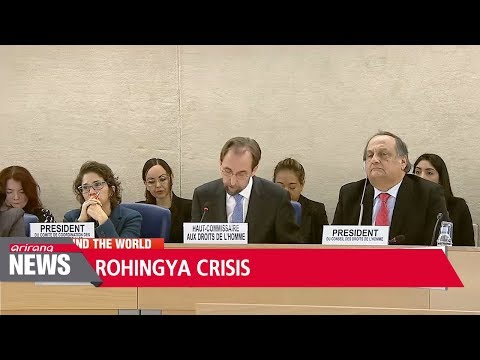 Myanmar forces may be guilty of genocide against Rohingya: UN