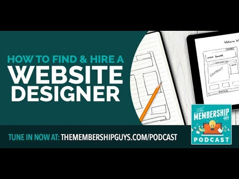 How to Find and Hire a Web Designer for your Membership Site