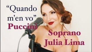 """Musetta's aria """" Quando m'en vo"""" soprano Julia Lima LIVE"""