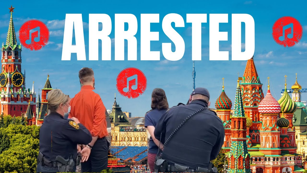 Christians Arrested in Moscow For Singing