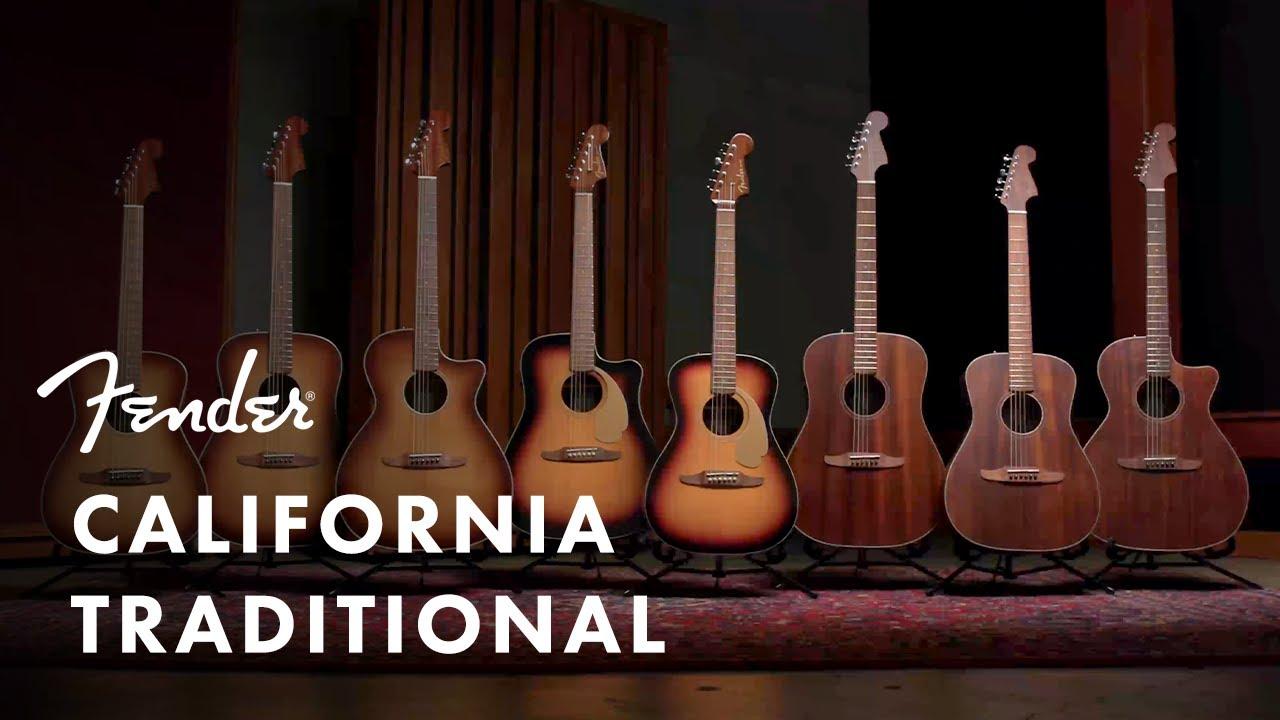 California Traditional Acoustics   Fender Acoustics   Fender