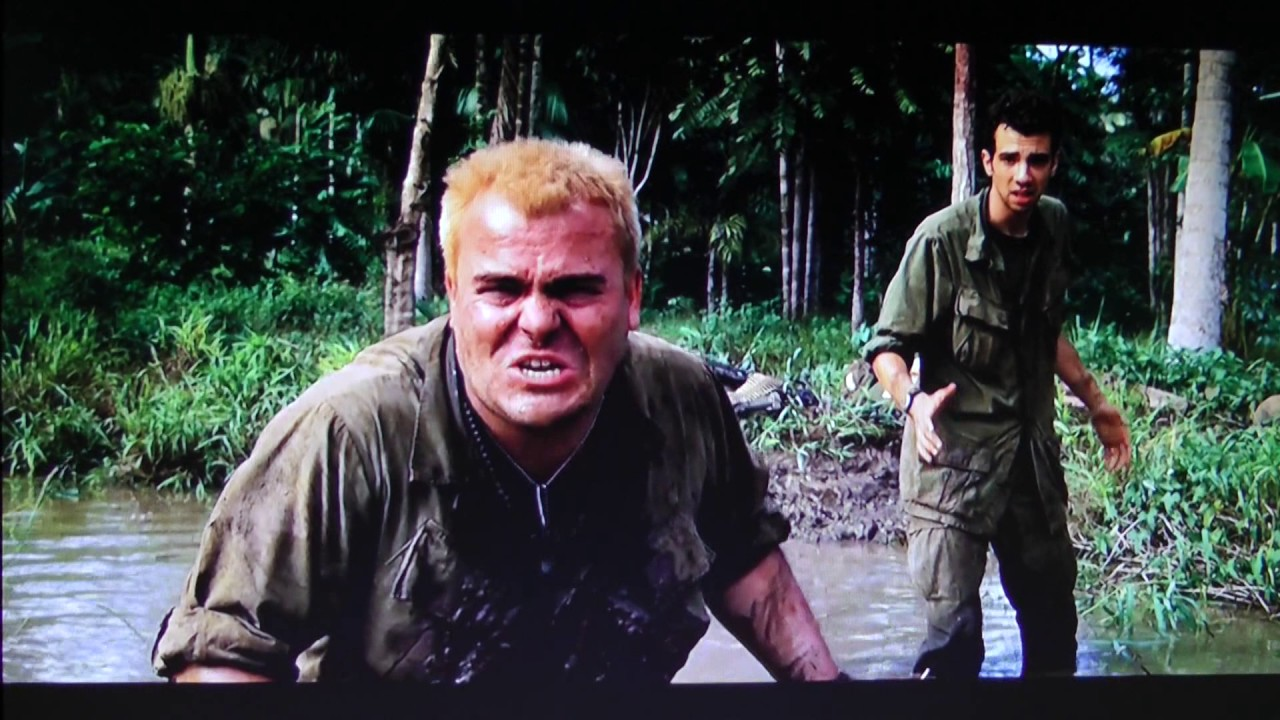 Image result for tropic thunder jack black