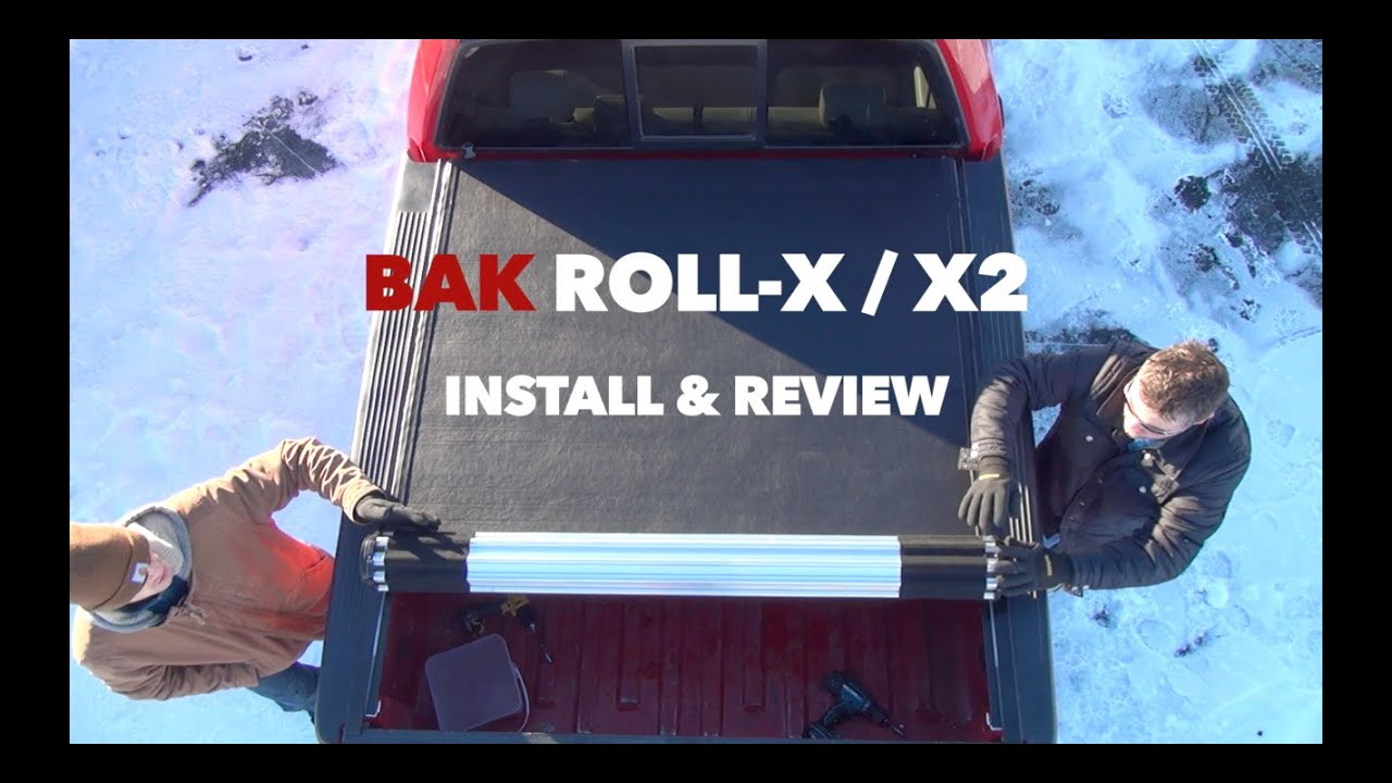 Bak Roll-X / X2 Rolling Hard Tonneau Cover Install and ...